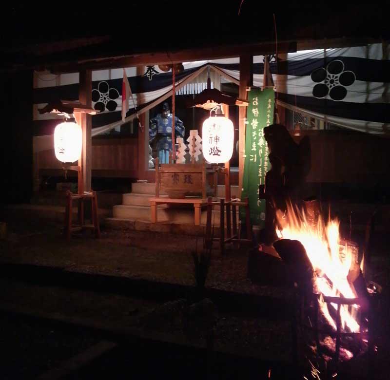 祭旦祭(市場天神社)