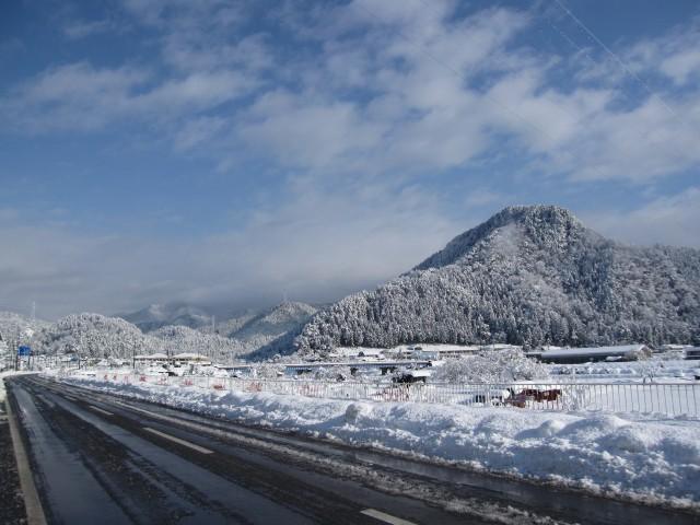 本格的な冬到来・・・