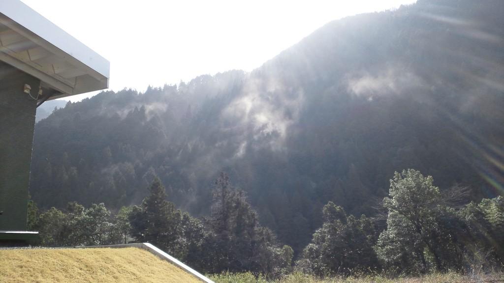 カスミか山火事か