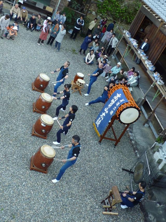 洞戸八十八ヶ所弘法霊場の餅まき