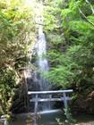 岩門の滝と不動明王
