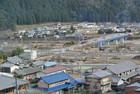 洞戸診療所、バスの交通拠点 建設中
