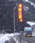 国道の温度計