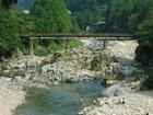 夏の板取川